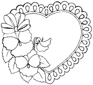 Valentine's Day Coloring Book Pages