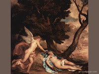 Cupid and Psyche Wallpaper