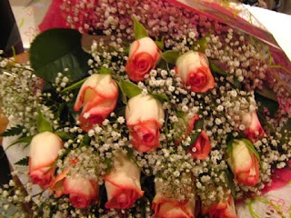 bouquet of roses for valentines day