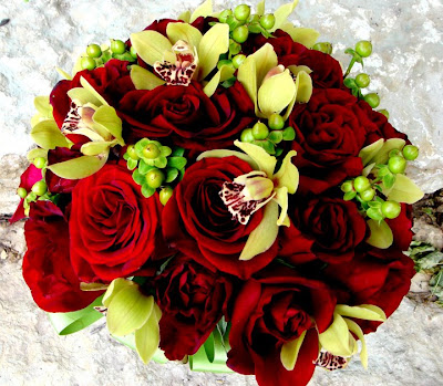 lovely rose bouquet for valentine
