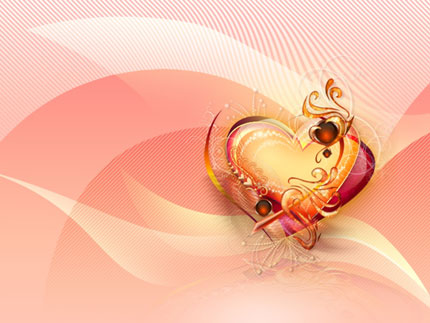 Valentines  Wallpaper on 3d Heart Wallpaper For Valentines Day Jpg