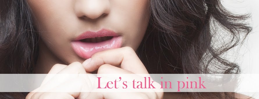 Let's talk in Pink