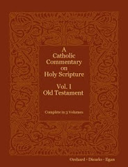 A Catholic Commentary on Holy Scripture (1953) - Old Testament Vol. 1