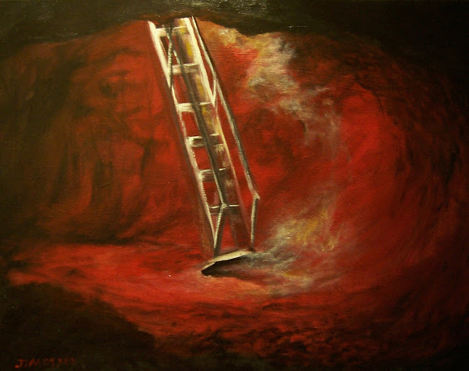 "Ladder  16""x20"" SOLD"