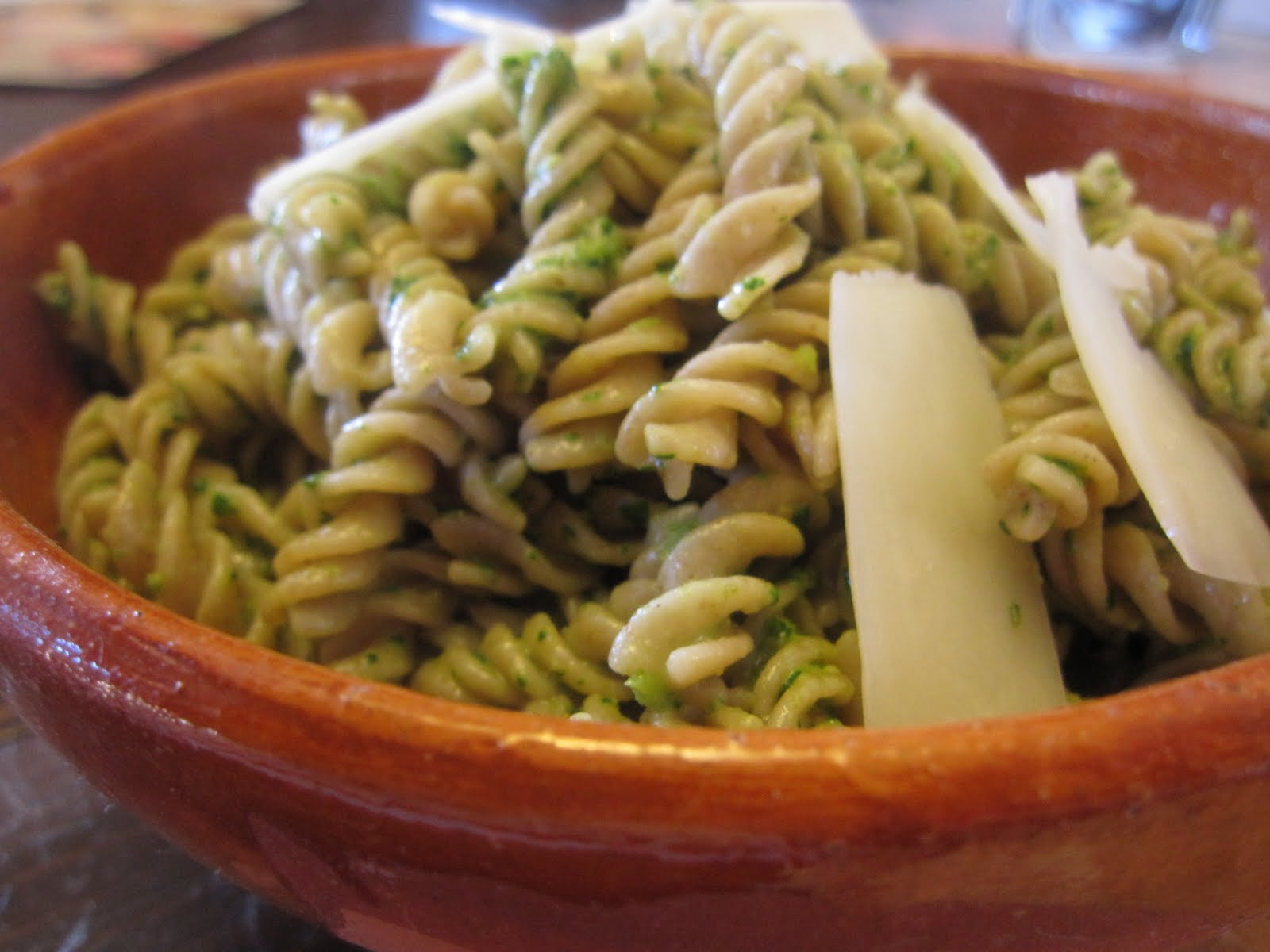 Fusilli with Spicy Walnut Pesto - Recipes4EveryKitchen