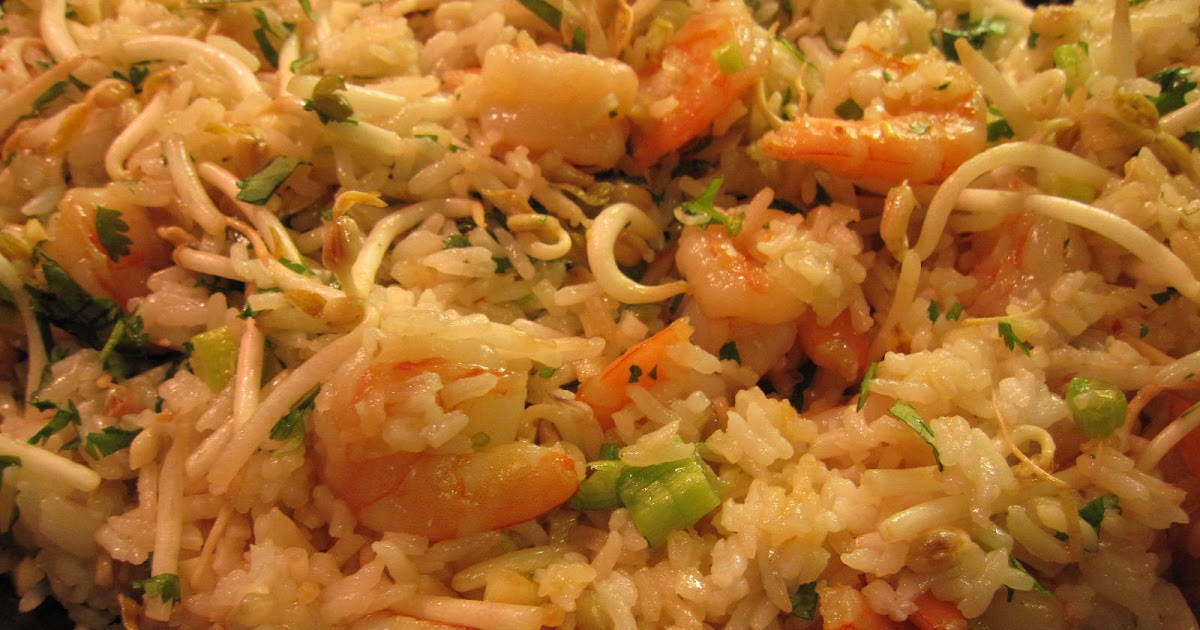 Recipes from 4EveryKitchen: Fancy Thai Fried Rice with Shrimp