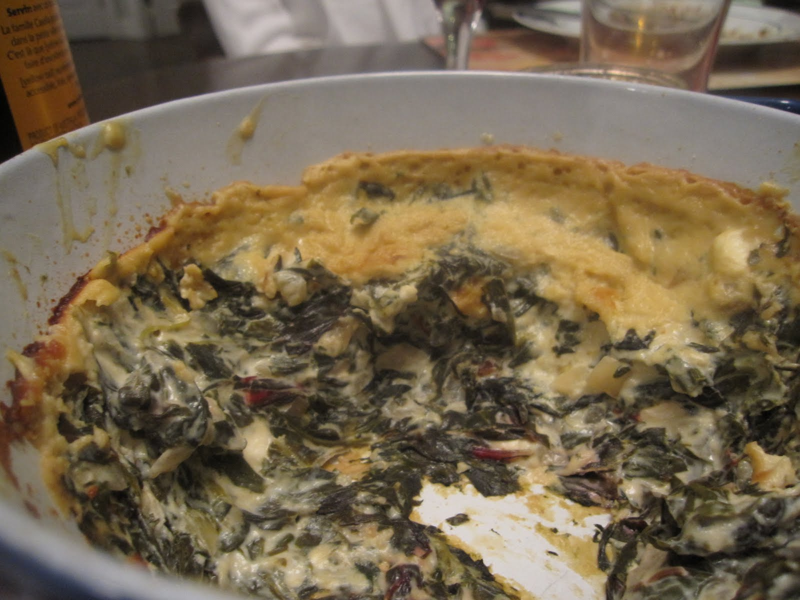 Recipes from 4EveryKitchen: Hot Spinach Cheese Dip
