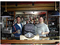 Bob Simko(l)- Bar manager; Casey Hard(r) - Cellarmaster
