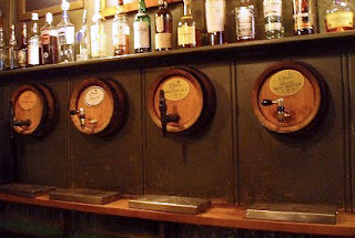 cask ales at the Jerusalem Tavern