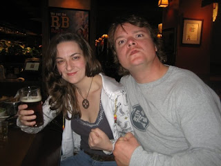 Camilla the Hun of DC Roller Girls and Jeff Wells of Ale Street News