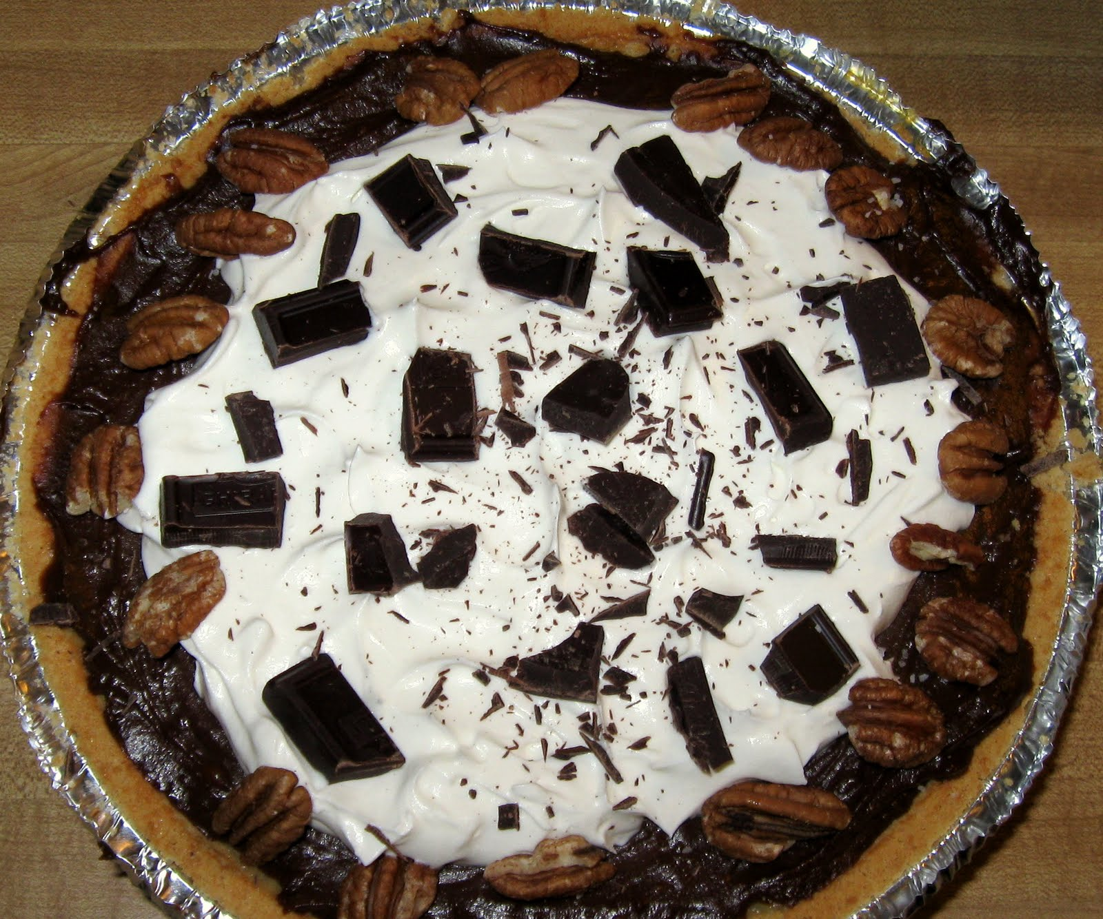 Chocolate Icebox Pie Sweetened Condensed Milk