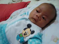 my nephew..ahmad fida'..haha