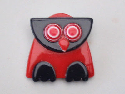 Lea Stein baby owl