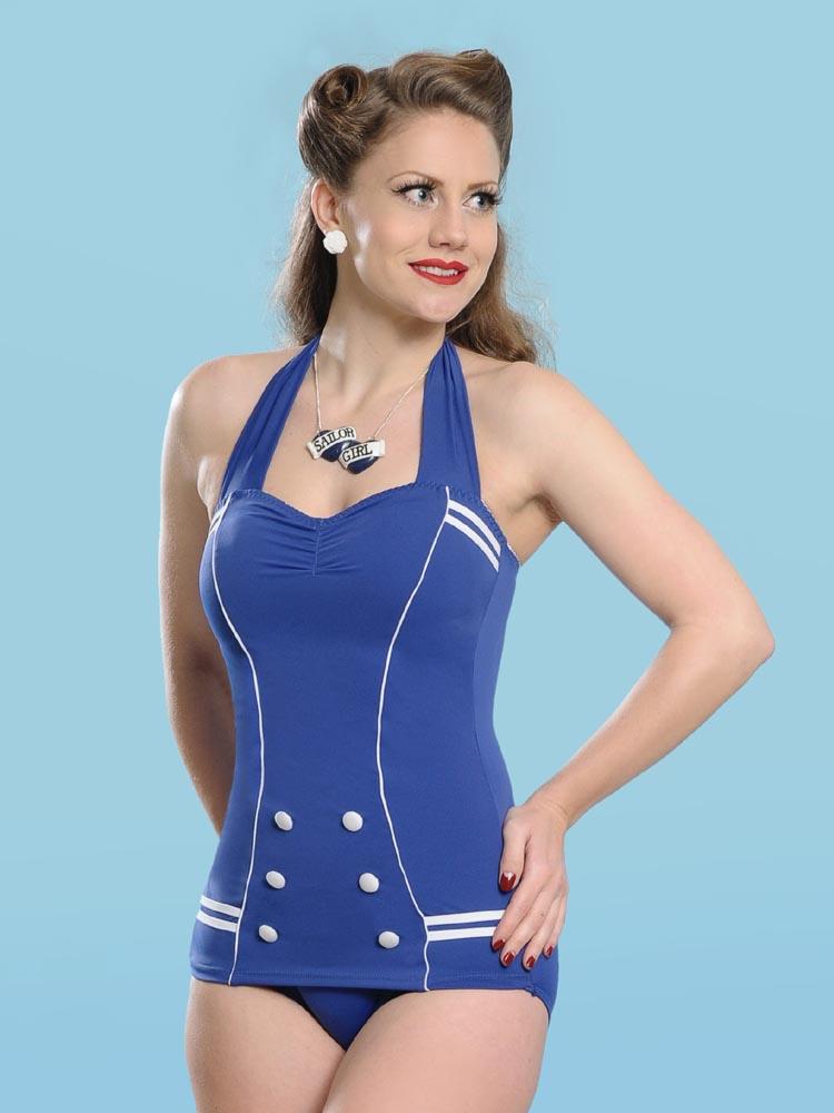 Sailor style bikini