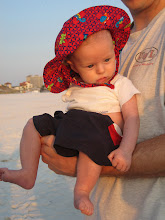 Four Months: Our Beautiful Miracle Sees the Ocean for the First Time!!