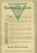THE ROSICRUCIAN CREED