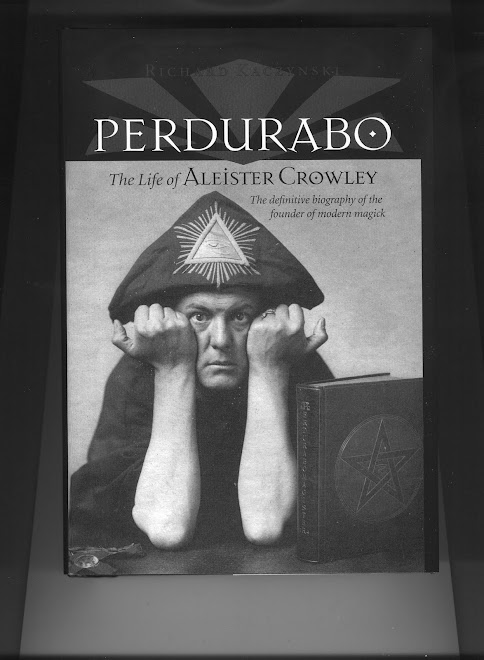 PERDURABO-THE LIFE OF ALEISTER CROWLEY