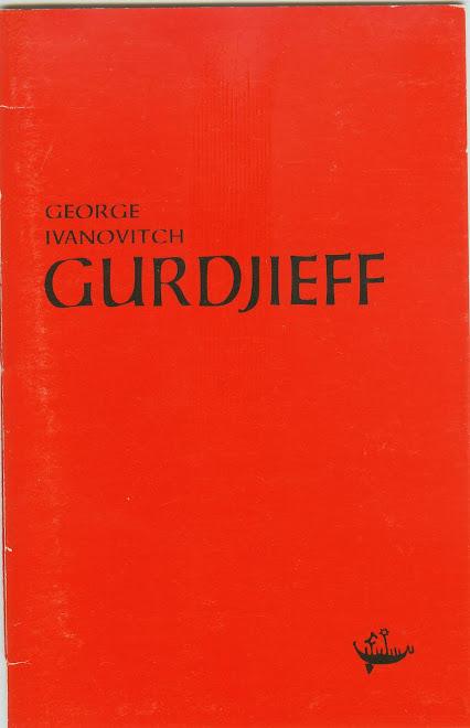 GEORGE INVANOVITCH GURDJIEFF