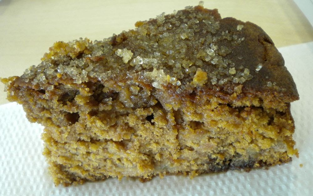 Squidgy Spiced Apple Cake