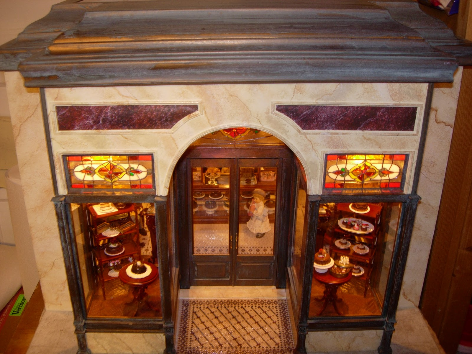 itty bitty adventures miniature monday victorian chocolate shop