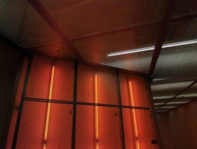 Pormenor do sitema de iluminação