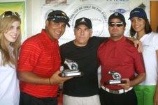 """En el III Clásico de Golf de los Padres """"II Pasticcio""""Liriano y Fernández se proclaman campeones"""