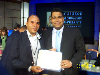 FRANKLIN RODRIGUEZ CALIFICA DE EXITOSO SEMINARIO EN WASHINGTON