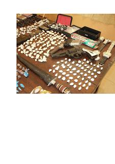 DNCD INCAUTA DROGAS Y ARMAS DE FUEGO A 16 SUPUESTROS DISTRIBUIDORES DE SUSTANCIAS PROHIBIDAS POR LA LEY