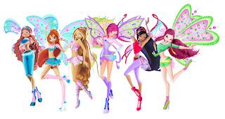 Журнал WINX CLUB My wi-style №1 и игра для девочек!