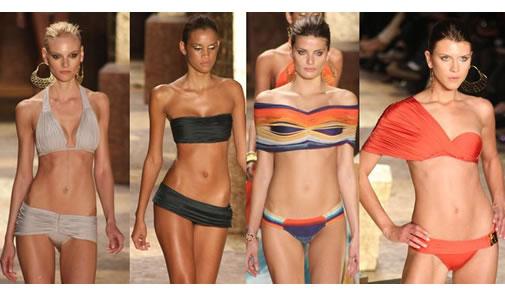 Biquinis para o verão, tendências da moda no Brasil
