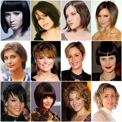 Corte de cabelos atrizes 2010