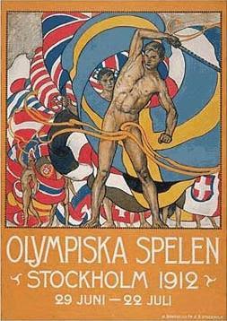 Logo da Olimpíada Estocombo 1912