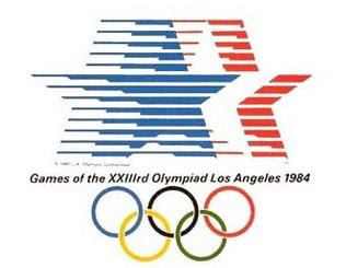 Logo da Olimpíada Los Angeles 1984