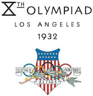 Logo da Olimpíada Los Angeles 1932