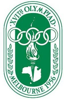 Logo da Olimpíada Melbourne 1956