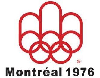 Logo da Olimpíada Montreal 1976