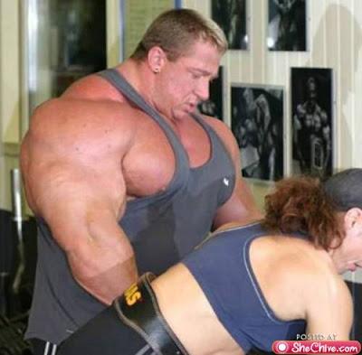 Musculação em excesso deforma o corpo