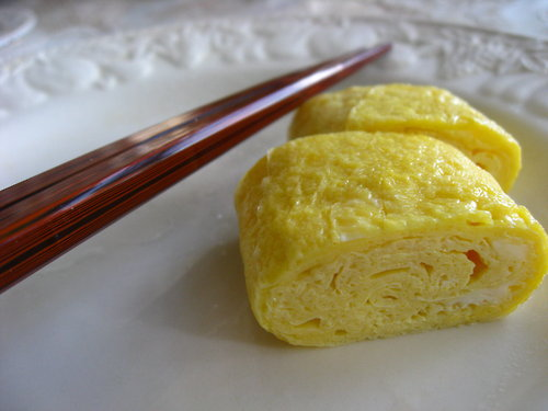 "... of Babel: How to make Japanese-style rolled Omelet ""Tamagoyaki""..."