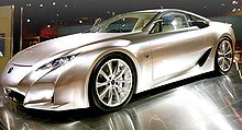 2012 Lexus LFA Concept