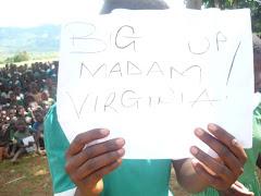 Big ups Madam Virginia!