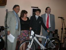 Entrega de Premio Gregorio Mimica