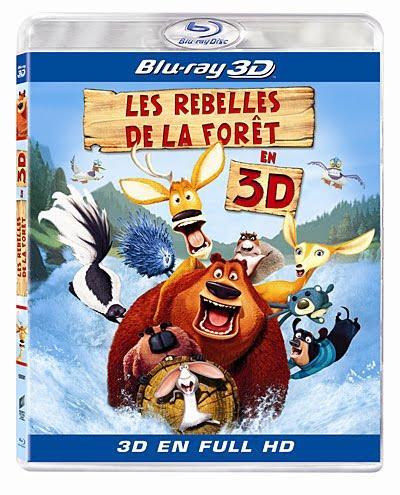 Les Rebelles de la forêt 3 - [BLURAY 3D] [FS]