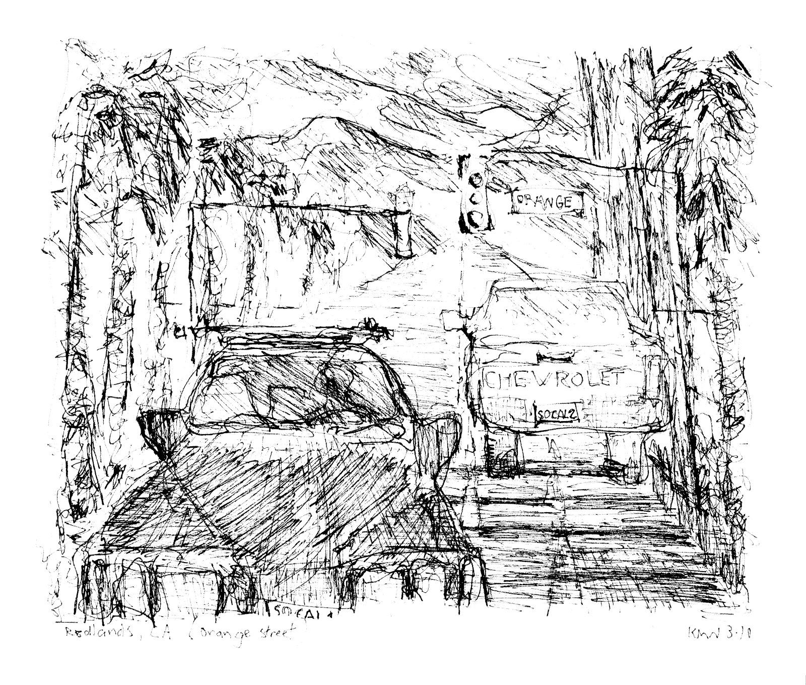 Drawings From SoCal   Kerry Niemann Art Journal