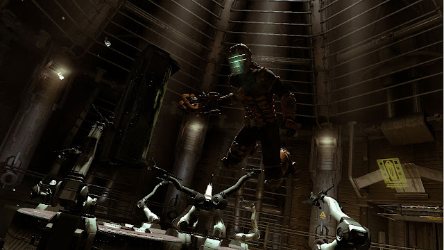 Conferencia EA E3 2010, Capturas Dead Space 2