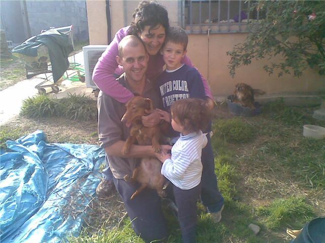 Nela y la familia que siempre quiso...