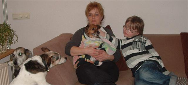 Dani y su nueva familia!