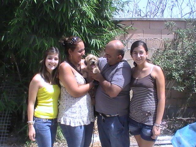 Adopción de Evita el 25 de julio 2009!!