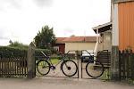 Eski Bisikletten Bahçe Kapısı Yapımı