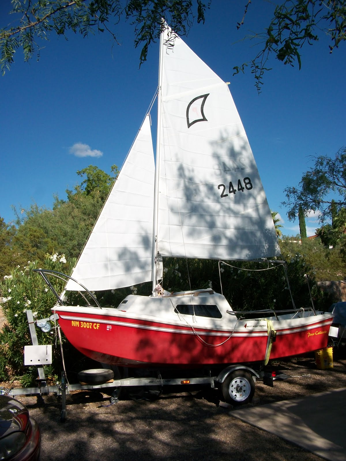 The Potter Is A Compact Mini Cruiser If You Wish To Use Her So But In Our Case Shes Just Comfortable Cozy Stable Easy Handle Day Sailer