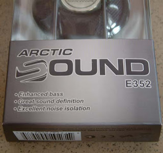 Arctic Sound E352 Earphones